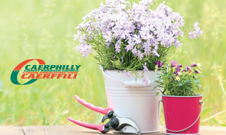 Enter Caerphilly's virtual gardening competition